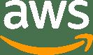 AWS Logo White + Colour Transparent