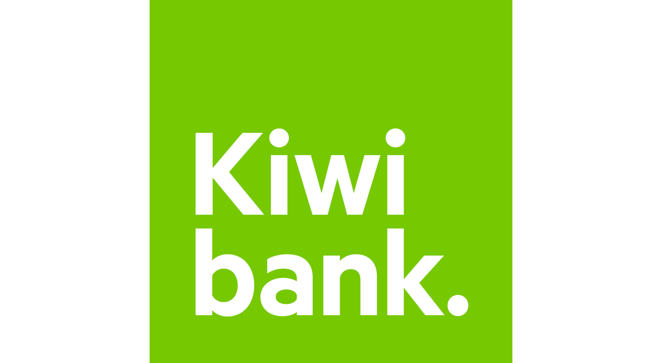 Kiwibank Logo Center