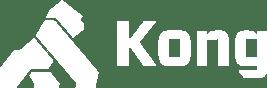 Kong Logo White