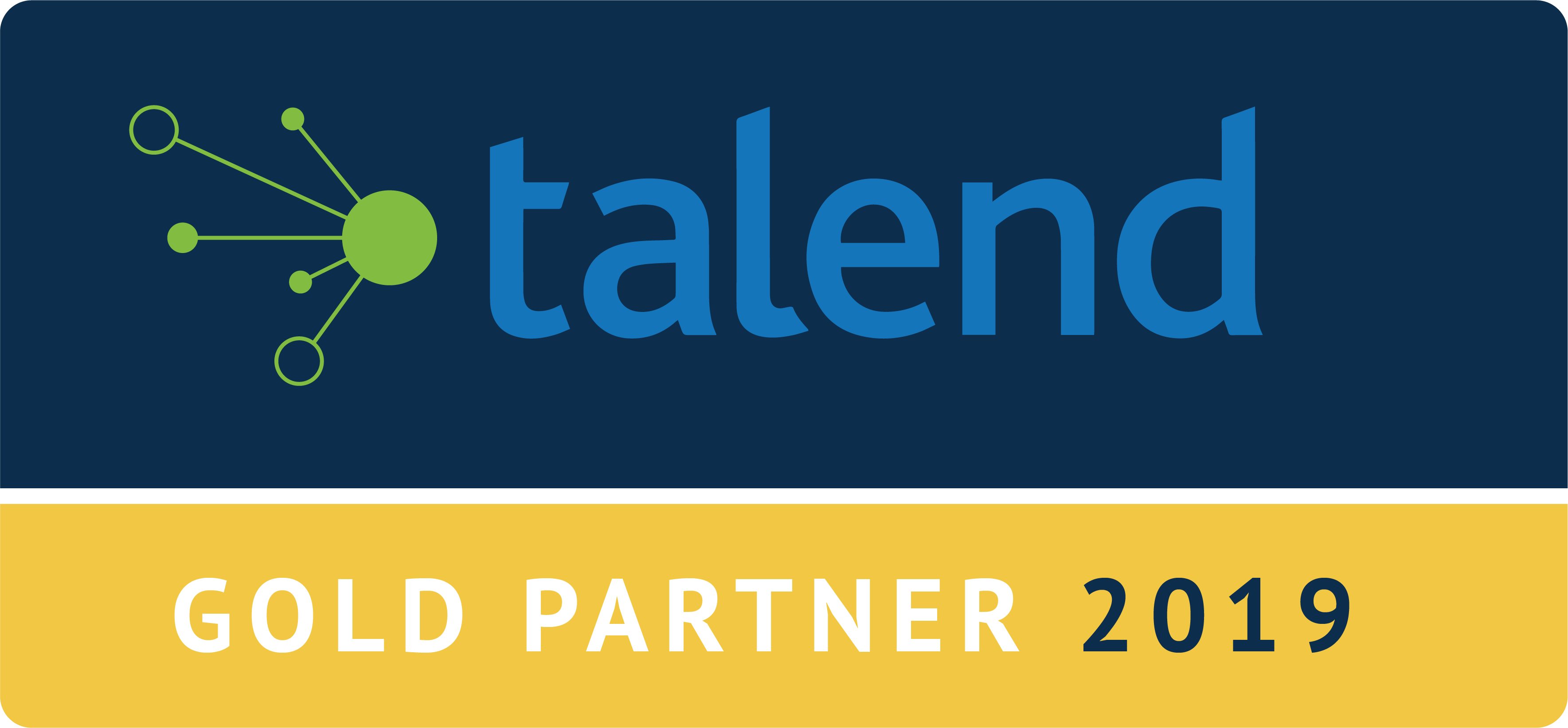 Talend Gold Partner Logo 2019