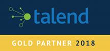 Talend Gold Partner Logo 100H