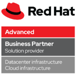 Red Hat Partner Advanced - Business Partner Solution Provider - Data Infrastructure Cloud Infrastructure