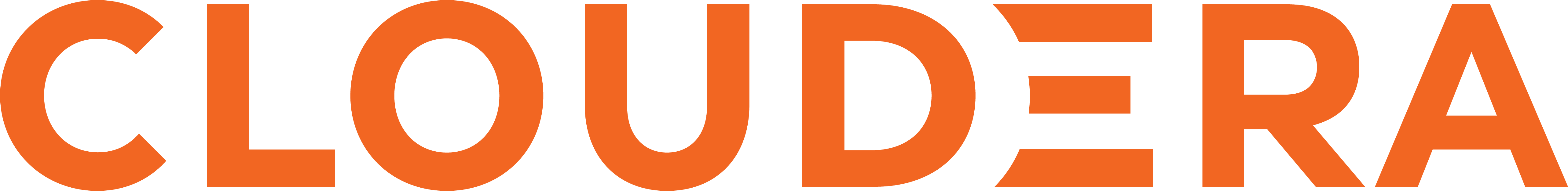 Cloudera Orange Logo